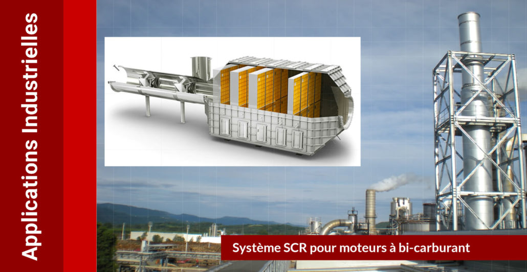 SCR Full DeNOx : applications industrielles