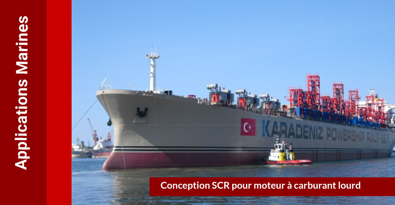 SCR Full DeNOx : applications marines