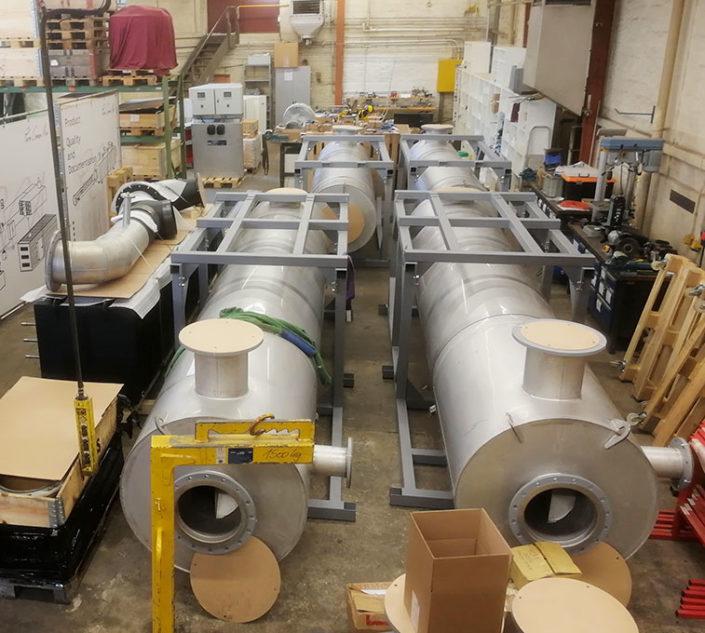 catalyseurs réacteurs ronds