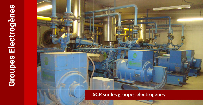 SCR Full DeNOx : groupes électrogènes