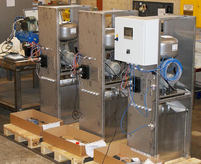Système SCR : armoire de contrôle et système d'injection