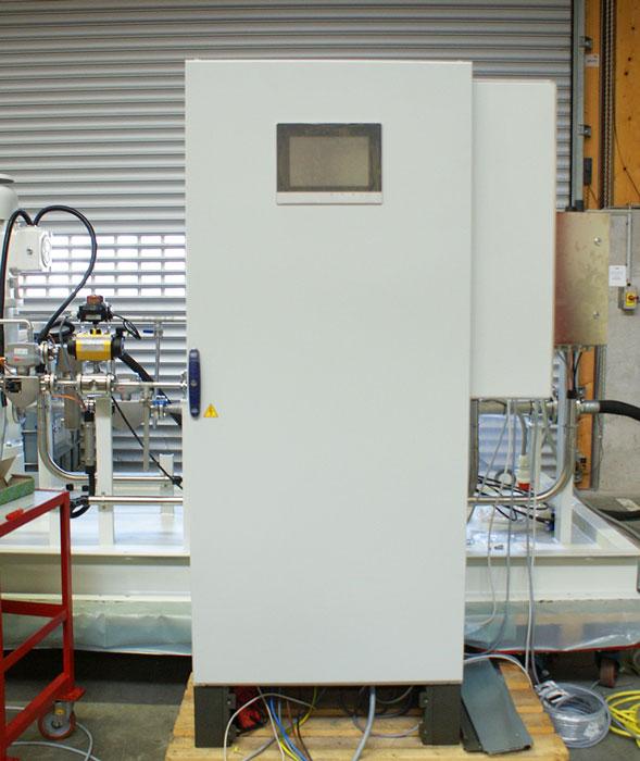 Système SCR : armoire de contrôle